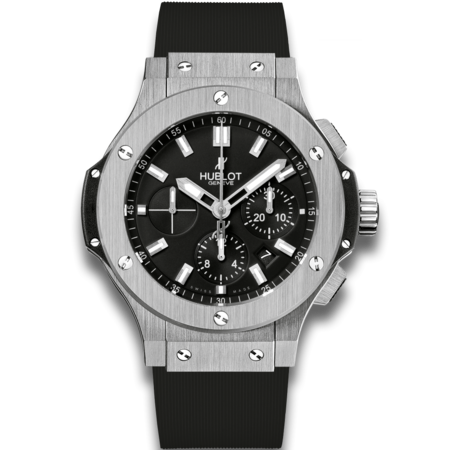 Gents stainless steel and black Hublot watch\\n\\n23/03/2016 16:25