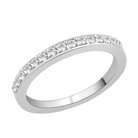 Channel claw set round brilliant cut diamonds set in white gold\\n\\n11/03/2016 17:00