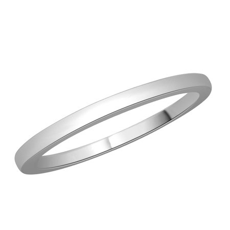Plain white gold or platinum fine wedding band\\n\\n11/03/2016 17:00