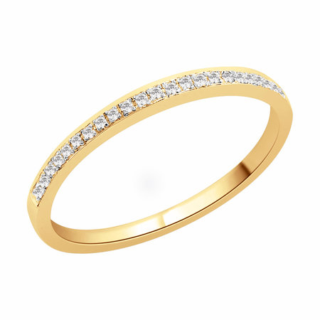 Channel claw set round brilliant cut diamonds set in yellow gold\\n\\n11/03/2016 17:01