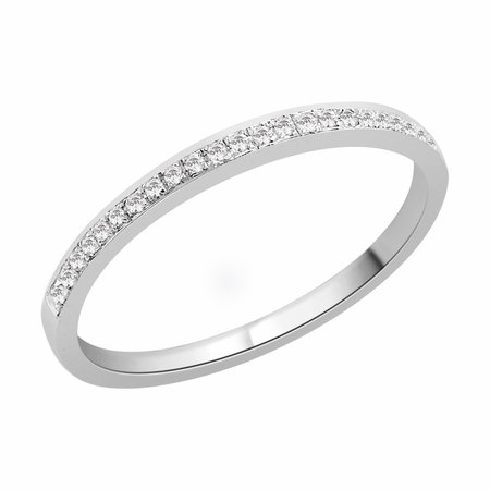 Channel claw set round brilliant cut diamonds set in white gold\\n\\n11/03/2016 17:01